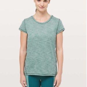 Lululemon Another Mile Short Sleeve Size 6/8